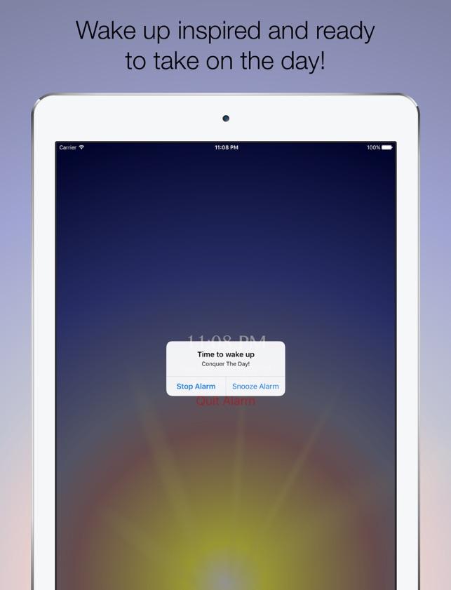 Inspire Alarm Clock on the App Store