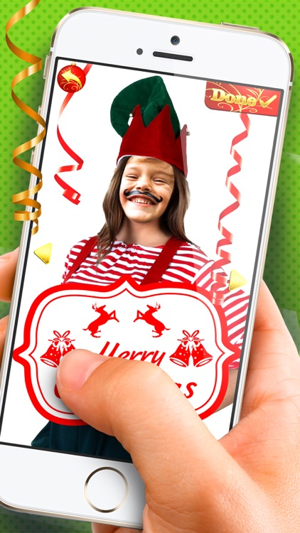 Elf Yourself - Christmas Photo Editor Cam Stickers
