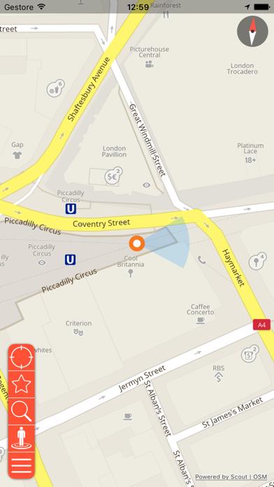 Screenshot of Paris (Le Havre) Mappa Offline e Guida Turistica3