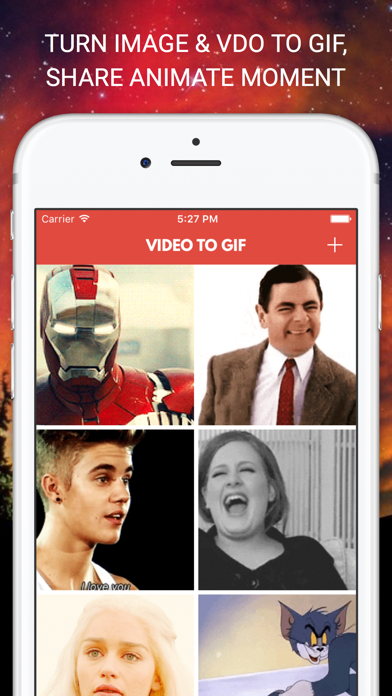Gif Builder - Make Text Animated Gifs, Create Moments, MEME
