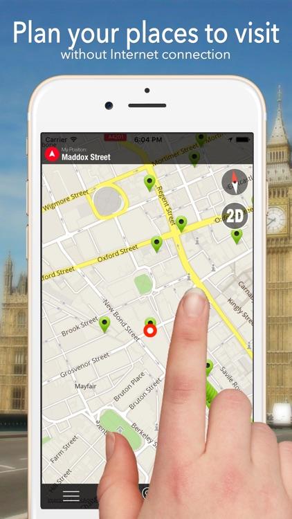 Invergordon Offline Map Navigator and Guide