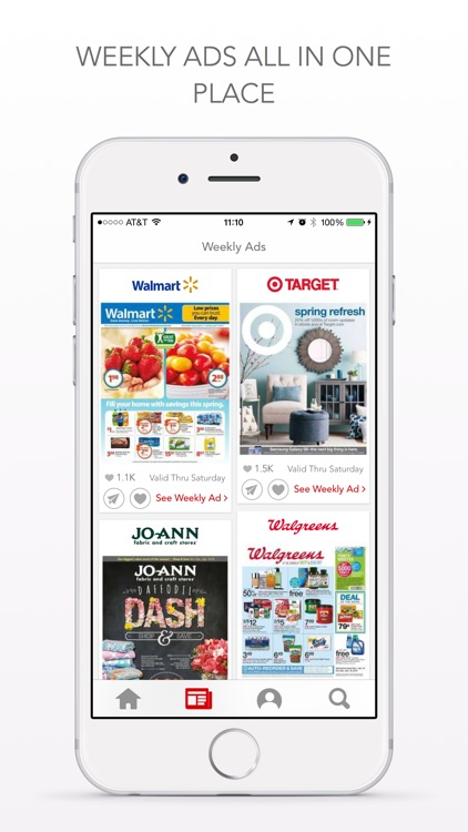 Shopular Coupons, Weekly Deals for Target, Walmart screenshot-2