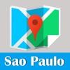 圣保罗旅游指南地铁去哪儿巴西地图 Sao Paulo metro gps map guide