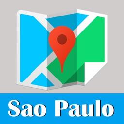 Sao Paulo metro transit trip advisor gps map guide