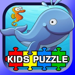 Sea Animals Puzzle HD - Funny Jigsaw Kids Games