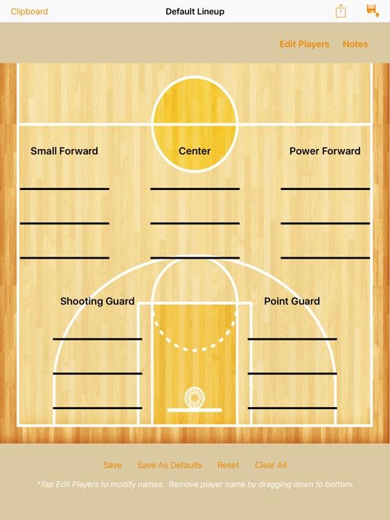 Basketball ClipPad screenshot-4