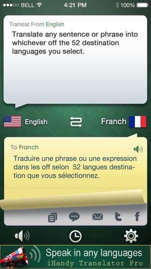 iHandy Translator on the App Store