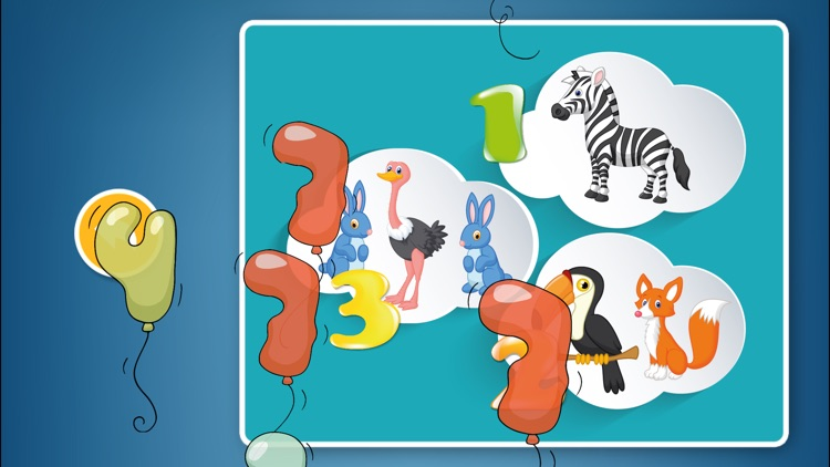 Numbers Puzzles Games Kids & Toddlers free puzzle screenshot-3