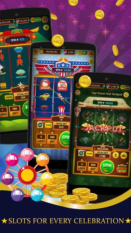 Slot Machines Carnival - FREE Vegas Casino screenshot-3