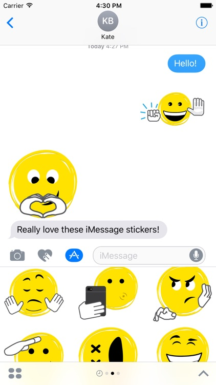 Sketch Xpress Stickers