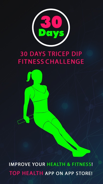 30 Day Tricep Dip Fitness Challenges