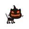Beautiful Kitten Halloween