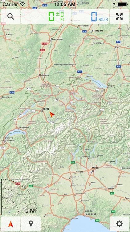 Switzerland - Offline Map & GPS Navigator