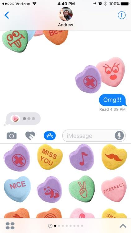 Chatty Candy Hearts screenshot-3