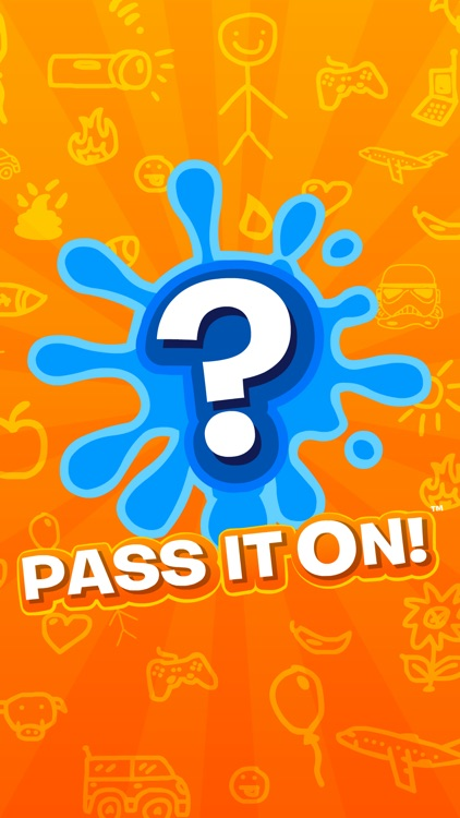 Pass It On! - Telephone Guessing Game & Drawing screenshot-0