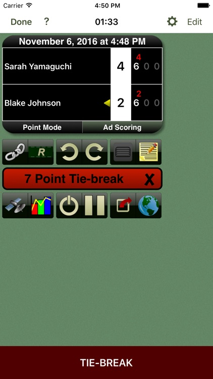 Tennis Score Tracker screenshot-0