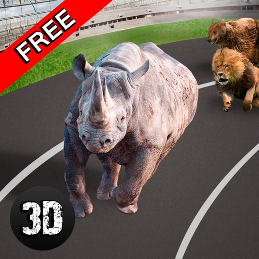 Wild Animal Racing Challenge 3D