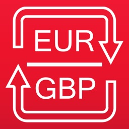 Euros to British Pounds and GBP to EUR converter
