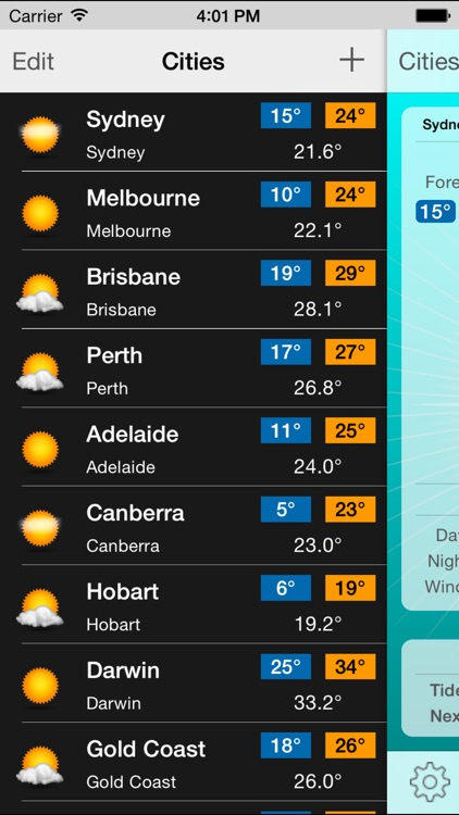 Oz Weather Plus - Australia screenshot-3