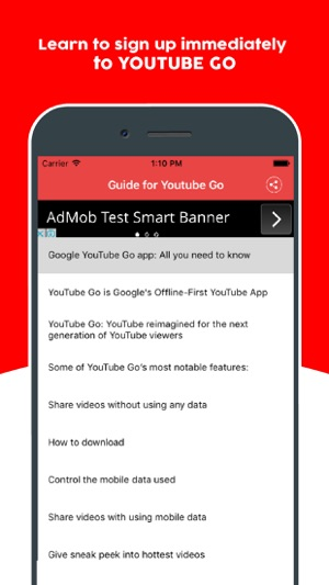 Guide for Youtube Go - Learn Offline Youtube App on the App Store