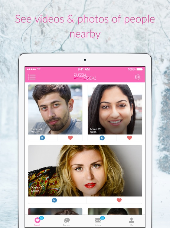 Russia Social -Dating Chat App for Russian Singles