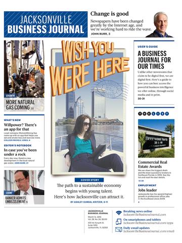 Screenshot of Jacksonville Business Journal