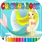 Mermaid Animal Coloring Book - for Kids icon