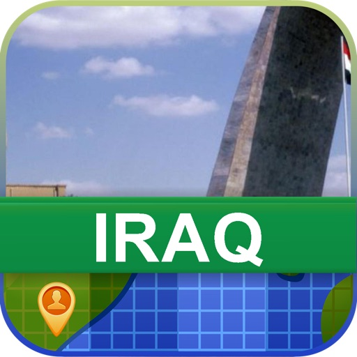 Offline Iraq Map - World Offline Maps