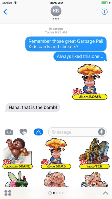 Garbage Pail Kids GPK Vol 1 Screenshot