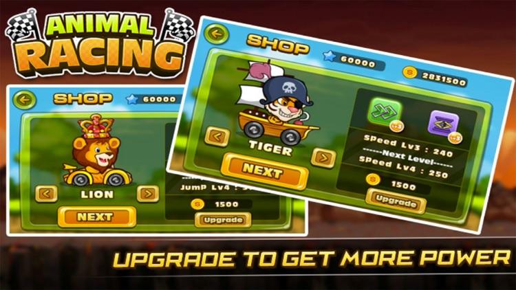 Super Crazy Racing Go - Animals jump and run screenshot-4
