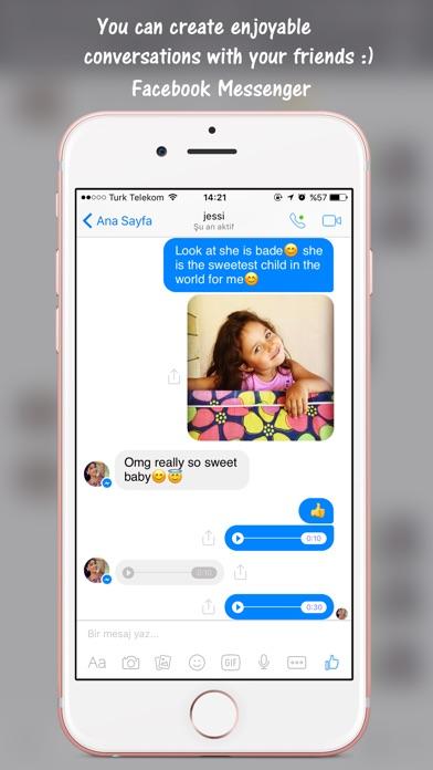 Prank Chat for Facebook app image