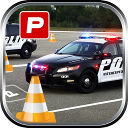 3D Police Car Parking -Real Driving Test Simulator