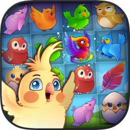 Birds: Free Match 3 Games