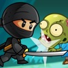 Ninja Kid vs Zombies - 8 Bit Retro Game Findcomicapps.com