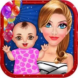 Celebrity Mommy Newborn Baby Care - Kids game for girls