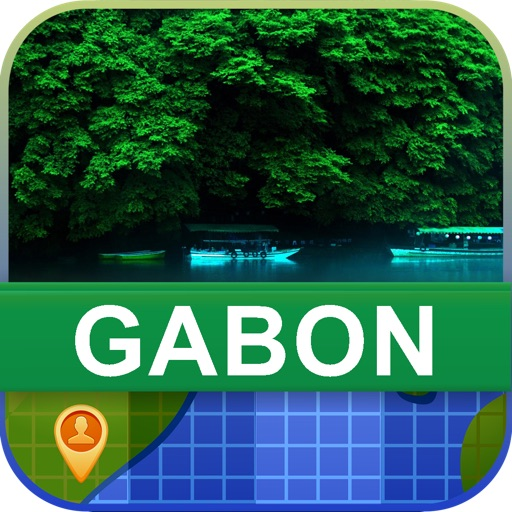 Offline Gabon Map - World Offline Maps