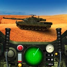 Tank Drive. 3D Simulator