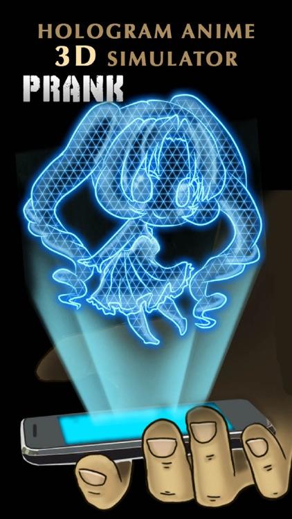 Hologram Anime 3D Simulator