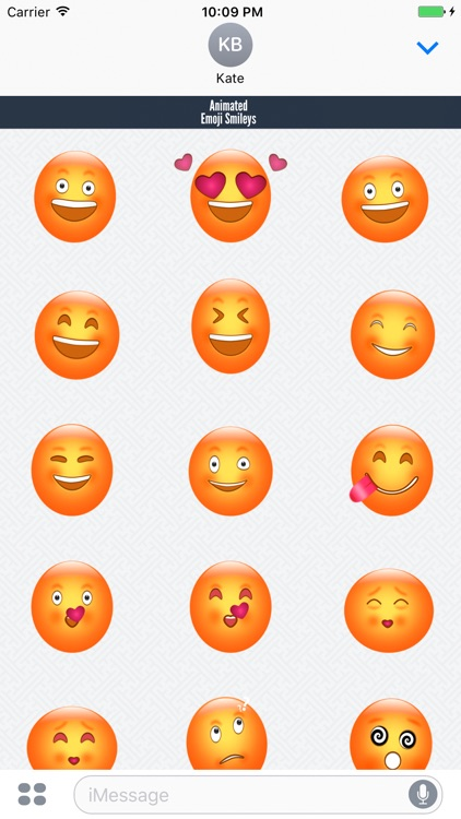 Animated Emoji Smileys