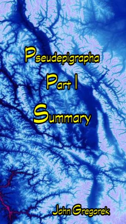 Summary Pseudepigrapha Books (part-1)