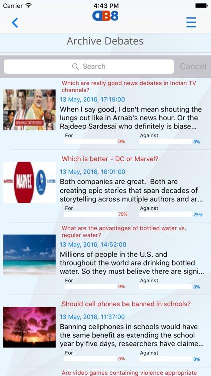 Audio Debate screenshot-4