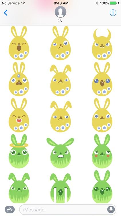 Rabbit Sticker screenshot-3