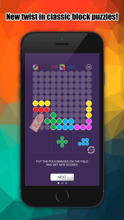 Placemino - Twist Of Pentomino screenshot-0