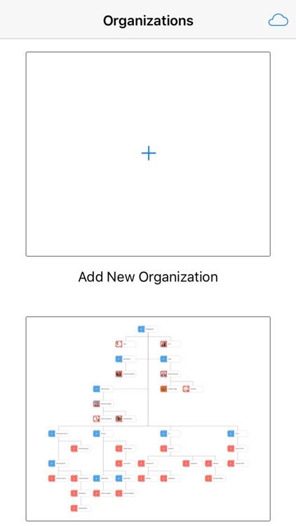 Sensus OrgChart App