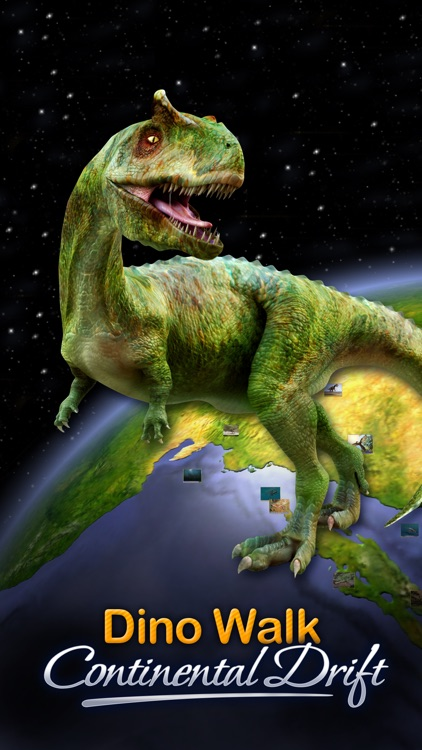 Dino Walk: Continental Drift & Ice Age Period screenshot-0