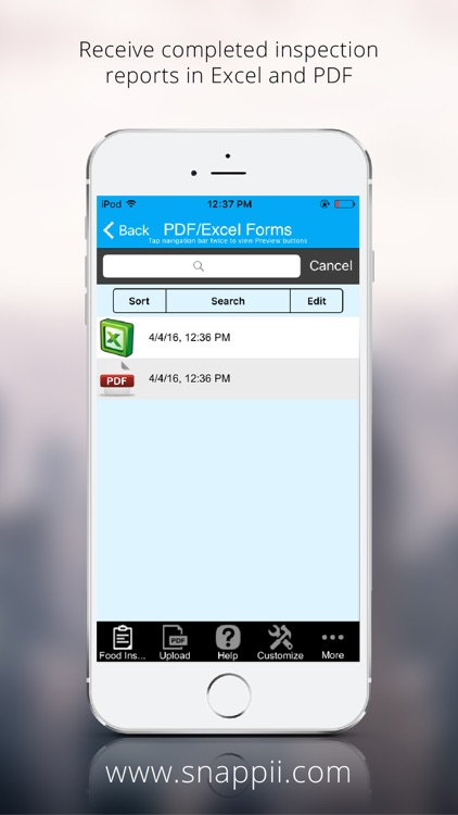 Food Inspection App screenshot-3