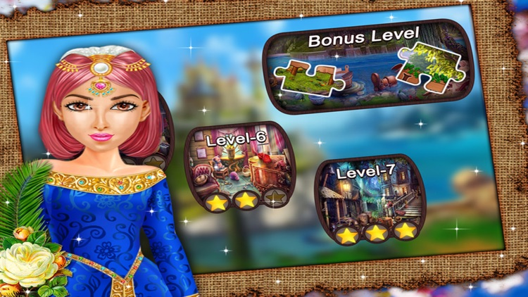 Brave Queen - Free Hidden Objects game for kids