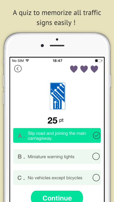 Highway code 2016 free - Driving licence theory screenshot two
