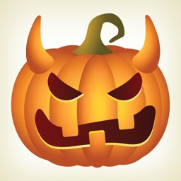 Pumpkin Halloween Emoji Sticker #2