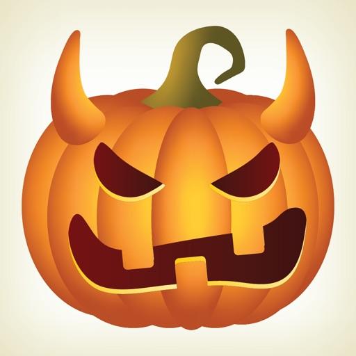 Pumpkin Halloween Emoji Sticker #2